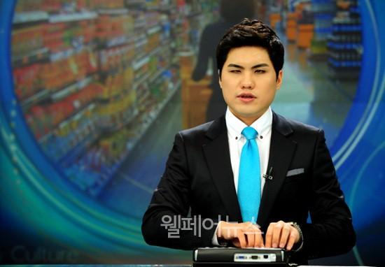 ▲ KBS 장애인 앵커 이창훈 씨. ⓒKBS