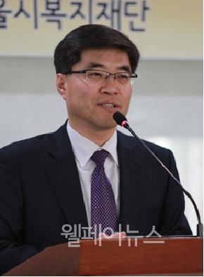 ▲ 서울시복지재단 임성규 신임대표이사.ⓒ정두리 기자