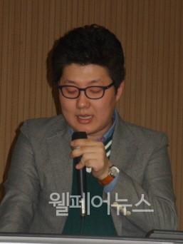 ▲ 한국장애인인권포럼 장애인정책모니터링센터 이강철 연구원  ⓒ정유림 기자