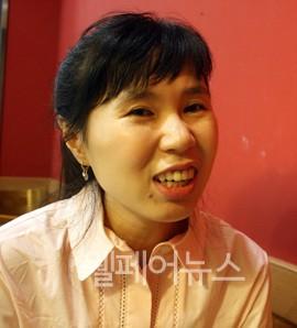 ▲ 김현아 씨.