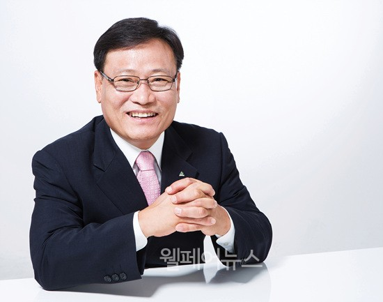 ▲ 한국지체장애인협회 중앙회장 선거 기호 1번 김광환 후보.