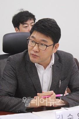 ▲ 한국농아인협회 김수연 부장이 주치의제도가 제대로 운영되기 위해 하위법령 개선이 필요하다고 주장하고 있다.