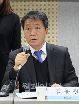 ▲ 형제복지원 피해사건의 담당 검사 였던 김용원 변호사가 발언하고 있다.